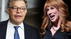 Shameless: Al Franken Won't Cancel Promo with Kathy Griffin
