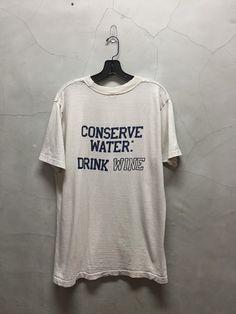 vintage t shirt 80s Brookside wine Biane by imtryingtofocus