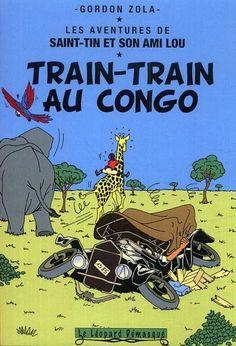 Les Aventures de Tintin - Album Imaginaire - Train-Train au Congo:
