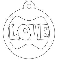 scroll saw patterns christmas ornaments - Google Search