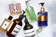 You use more of it than anything else. How did you come to find the right hand soap for you?