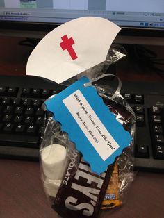 Nurse's Week gift - Wish S'more Nurses Were Like You Nurses Week Quotes, Nurses Week Gifts, Happy Nurses Week, Nurses Day, Nurse Gifts, Teacher Gifts, Nurses Week Ideas, Nursing Quotes, Nursing Memes