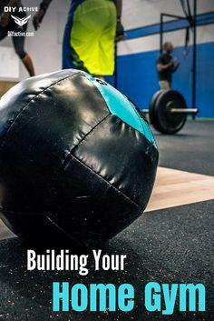 Home Gym Essentials: Lifting, Moving and Stretching via @DIYActiveHQ #gym #health #DIY