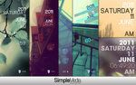 A beautiful #RainMeter skins. Im gonna install it when i reformat my Asus computer