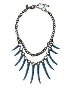 Athena Pave Statement Necklace by Sequin at Neiman Marcus.
