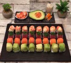 Dados de Sushi - Receta para fin de año - Chef Club España