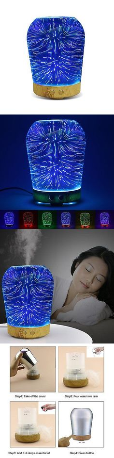 Essential Oils and Diffusers 20553: Aromatherapy Oil Diffuser, Kercan 100Ml Essential Oil Ultrasonic Cool Mist With -> BUY IT NOW ONLY: $34.22 on eBay!
