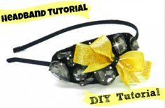 Design your own bridesmaid fashion diy headband for your fall wedding.