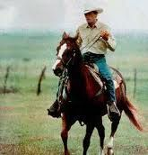 "George strait always the sad song, cause you know its the last ""The cowboy rides away"""