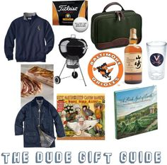 The Dude Gift Guide - hello, last minute Father's Day ideas!