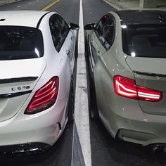 BMW M4 & Mercedes AMG C63 Coupe