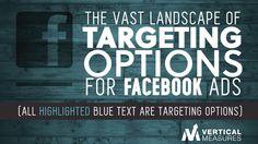 The Vast Landscape of Targeting Options for Facebook Ads