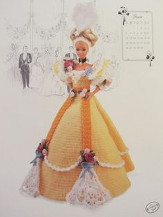 Annie's Calendar Bed Doll 1994 Collector's by MadeByLauretta, $9.50
