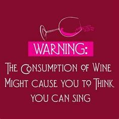 This should be posted in all places that karaoke and booze are combined! lol