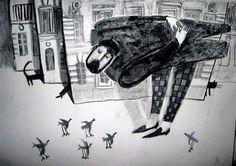 گالری منتخب تصویرسازی های آلیسا یوفا - روسیه - Alisa Yufa - Russia | سایت هنر مقاومت