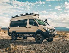Mercedes Camper Van, 4x4 Camper Van, Mercedes Sprinter Camper, Build A Camper Van, 4x4 Van, Camper Life, Sprinter Van Conversion, Camper Van Conversion Diy, Vw Bus