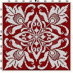 ru / Фото - Le Filet Ancien V - gabbach Cross Stitch Borders, Cross Stitch Charts, Cross Stitch Designs, Cross Stitching, Cross Stitch Embroidery, Embroidery Patterns, Cross Stitch Patterns, Filet Crochet Charts, Knitting Charts
