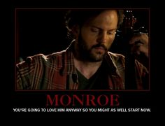 Monroe from Grimm <3 Best part of the show.