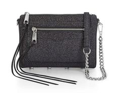 Rebecca Minkoff Avery Glitter Leather Black Cross Body Bag. Get the trendiest Cross Body Bag of the season! The Rebecca Minkoff Avery Glitter Leather Black Cross Body Bag is a top 10 member favorite on Tradesy. Save on yours before they are sold out!