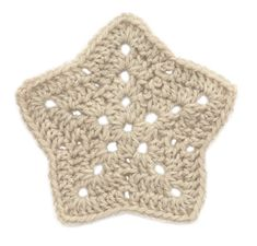 Double Crochet, Star Motif: free pattern