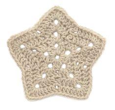 Double Crochet, Star Motif: free pattern