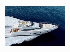 Luxury motor yacht for rent with crew, Jacuzzi and barbeque for idyllic sailing holidays in Balearics and the Mediterranean. Big Yachts, Super Yachts, Luxury Yachts, Yacht Boat, Pontoon Boat, Used Sailboats For Sale, Superyachts For Sale, Azimut Yachts, Yacht World