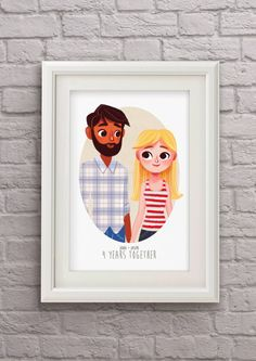 Hey, I found this really awesome Etsy listing at https://www.etsy.com/listing/220136329/custom-portrait-couple-personalized