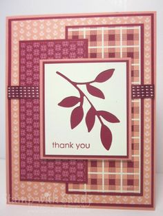 Birthday Basics & Little Leaves, FMS95 by stampwithsandy - Cards and Paper Crafts at Splitcoaststampers
