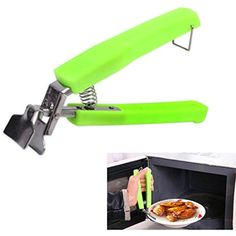 Stainless Steel Bowl Clip Kitchen Gadgets Hot Dish Plate Bowl Pot Pan Clip Gripper Retriever Tong,Green -- Want to know more, click on the image. (This is an affiliate link) #KitchenUtensilsGadgets