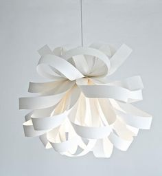 I was just surfing around for light fixtures and found this cool ceiling light. It´s so much more modern than I would normally be drawn to ...