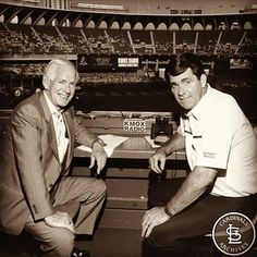Jack Buck and Mike Shannon