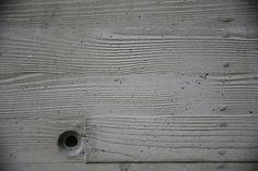 Concrete – Wood casting detail