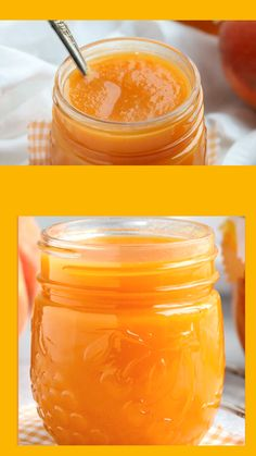 Easy Peach Butter made in the crock pot slow cooker or Instant Pot will give you the taste of summer peaches for months to come. Make this peach fruit spread and enjoy on toast with yogurt ice cream or over cake. Home Canning Recipes, Cooking Recipes, Canning Tips, Peach Recipes For Canning, Peach Jam Recipes, Peach Jelly Recipe Canning, Tomato Canning Recipes, Nectarine Recipes, Freezer Jam Recipes