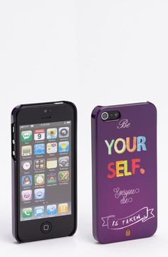 Case Scenario 'Be Yourself' iPhone 5 Case available at #Nordstrom