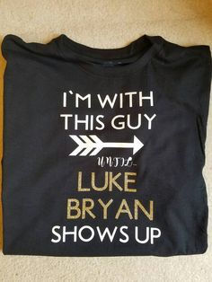 Luke Bryan T-Shirt by CustomLSDesigns on Etsy
