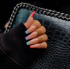 pin ' @kjvougee 💋 Bad Nails, Bling Nails, Fancy Nails, Cinnamon Sticks, Nail Inspo, Pretty Nail Designs, Colorful Nail Designs, Really Cute Nails, Pretty Nails