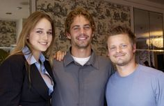 Pin for Later: Look Back at Paul Walker's Best Hollywood Moments  At the September 2001 Toronto International Film Festival, Paul posed with his Joy Ride costars Leelee Sobieski and Steve Zahn.