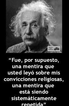 Frases ateas de Albert Einstein - Taringa!