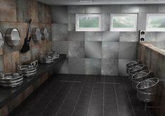 Sanela KEG urinals and washbasins