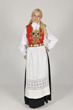 Nordhordalandsbunad, Norway. Folk Costume, Costume Dress, Costumes, Sons Of Norway, Sewing Room Decor, Looking Gorgeous, Beautiful, Historical Clothing, Bergen