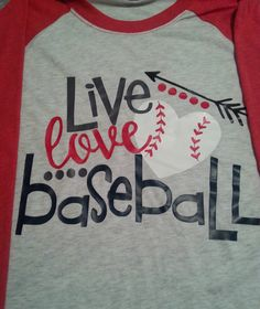 Live Love Baseball Shirt Baseball Mom Baseball raglan Plus size raglan Youth Baseball Shirts Customm Baseball Shirt Ballfield Shirt by SimplySweetJBoutique on Etsy