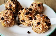 4 Ingredient Raw Cookie Dough Balls