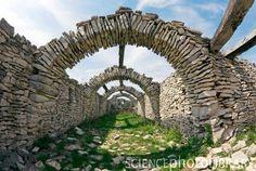 ancient Nordic arch