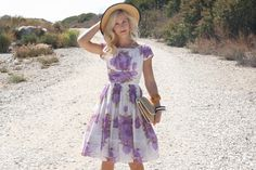 Vintage+50s+Dress/+1950s+Cotton+Dress/+Saba+by+WhenDecadesCollide,+$156.00
