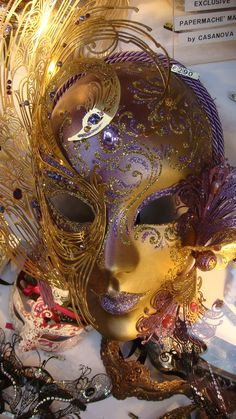 Venetian Carnival mask, Venice, Italy (Joe Cruz photo). (Reminds me of the Tale from Edgar Allen Poe when I think of the Venitian Carnival-)