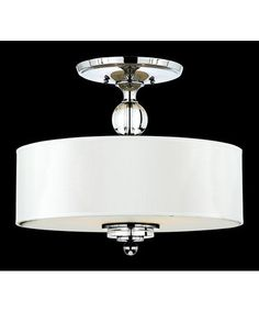 Quoizel DW1717 Downtown 17 Inch Semi Flush Mount $250 1800lighting.com