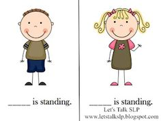 Pronoun People: Pronoun activities Let's Talk SLP