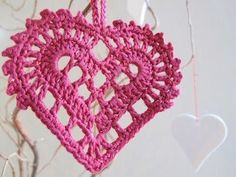 Swedish Heart Crochet Pattern