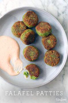 Falafel Patties via @PureWow