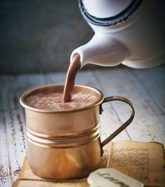 Para consentir al alma, este delicioso chocolate caliente...